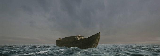 Alles im Lot auf dem Boot. Die See ein wenig unruhig, aber man bleibt obenauf.